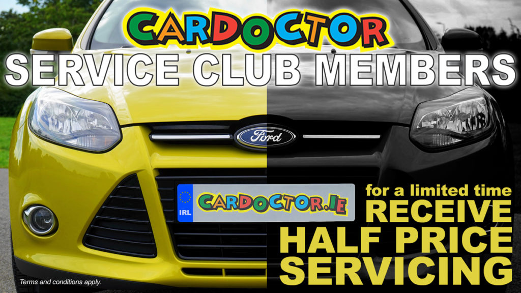 Half-Price servicing for Car Doctor Service Club members